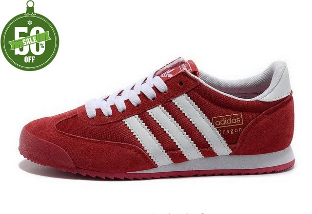 adidas dragon rouge homme